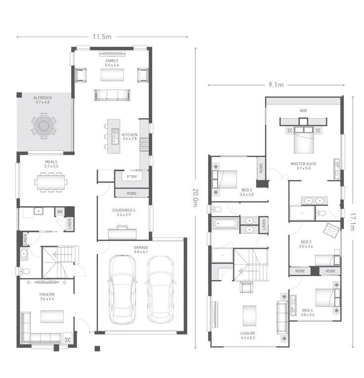 Newbury 35 Plan | Ausbuild. AntsHome HomeNew HomesHouse DesignFloor ...