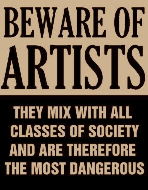 Actual poster from the mid-50's issued by Senator Joseph McCarthy at the height of the Red Scare and anti communist witch hunt.  Yep.