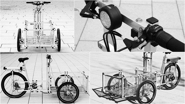REVISTA BICICLETA - Em quadro do fantástico, repórter ajuda a criar uma bicicleta elétrica na comunidade de Paraisópolis