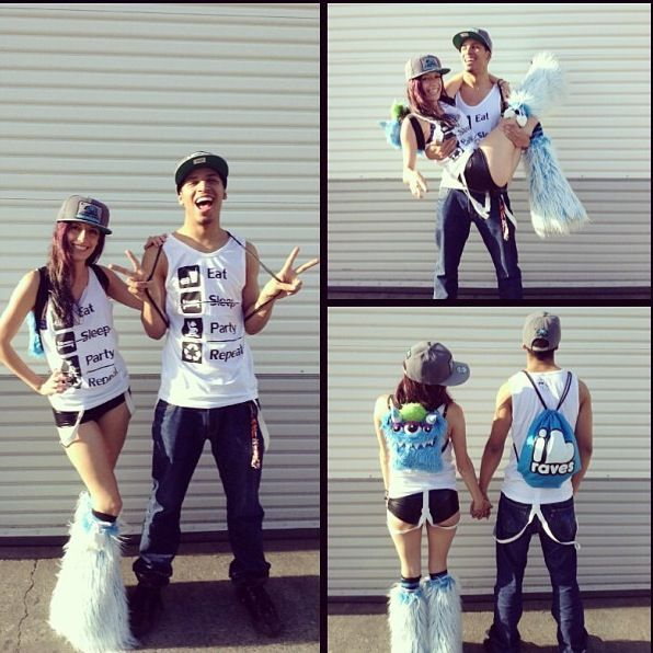 #rave #cute couple | rave ideas | Pinterest | Shirts Rave couple and Rave