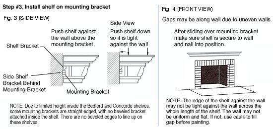 DIY: Traditional Wood Mantel Shelf Installation http://www.mantelsdirect.com/mantel-blog/DIY-Traditional-Wood-Mantel-Shelf-Installation
