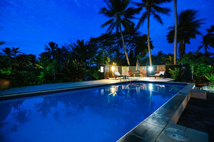 swimming pool, muri beachcomber, Rarotonga, island vacation