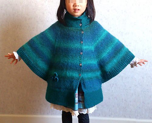 Ravelry: Project Gallery for Poncho 022-T9-092 pattern by Phildar Design Team