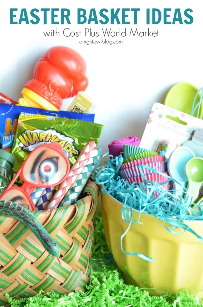 192 best gift basket ideas images on pinterest creative gifts easter basket ideas with cost plus world market negle Images