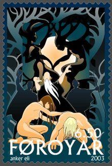 Ask og Embla. Ifølge nordisk mytologi var de to første mennesker på jorden Ask og Embla.  Ask og Embla var træstammer (formentlig af ask og elm), som lå og skurede i strandkanten.  Odin kom forbi sammen med to andre guder – Høner og Lødur.  De tre guder gav træstammerne ånde, vilje og skønhed.  Fortællingen om Ask og Embla findes i Vølvens spådom (Völuspá) og Gylfaginning.  Ifølge Gylfaginning var de tre guder Odin, Vile og Ve.  Forestillingen om at de to første mennesker blev formet af…