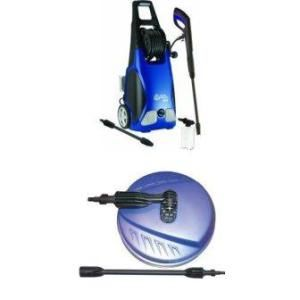 AR Blue Clean AR383 with 1,900 PSI and 1.5 GPM 14 Amp Electric Pressure Washer with Hose Reel