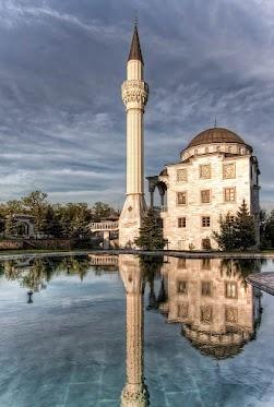 The Mosque in Mariupol (Ukraine)