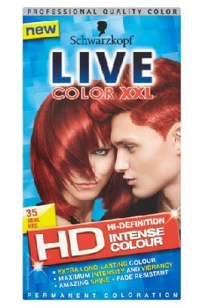 Live Color XXL HD Schwarzkopf Live Color XXL HD Intense Colour Schwarzkopf Live Color XXL HD Intense Colour Permanent Coloration 35 Real Red: Express Chemist offer fast delivery and friendly, reliable service. Buy Schwarzkopf Live Color XXL HD Intense Colour Perm http://www.MightGet.com/january-2017-11/live-color-xxl-hd-schwarzkopf-live-color-xxl-hd-intense-colour.asp