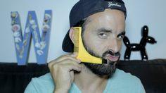 Test : le Groomarang, un drôle d'accessoire pour tailler sa barbe