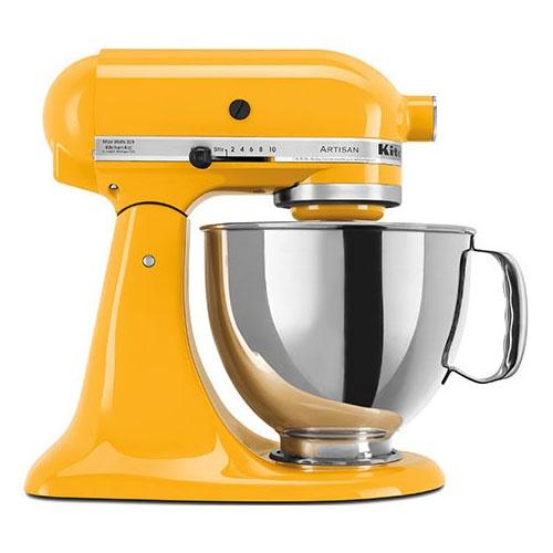 KitchenAid Artisan Mixer KSM150 Yellow Pepper - Free Cookbook & Shipping $689