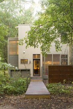 Eco Friendly Vacation Home Exterior   Modern   Exterior   Chicago   Burns  And Beyerl Architects