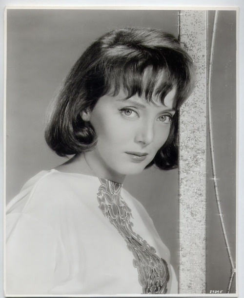 Carolyn Jones (1930 --1983) A graduate of Pasadena Playhouse, Jones' first film was 'The Turning Point' in 1952, followed by 'House of Wax' in 53. Success in 'The Invasion of the Body Snatchers' came in 1956. Next she made 'The Bachelor Party;' she cut and dyed her hair black [became her signature color]. For this role she received an Oscar nomination, 1957. In '58 she played opposite Elvis Presley in 'King Creole,' [considered by many to be his best film]. Morticia Addams came in 1964.