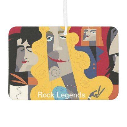 Rock Legends Air Freshener  $7.10  by Fonticity  - custom gift idea