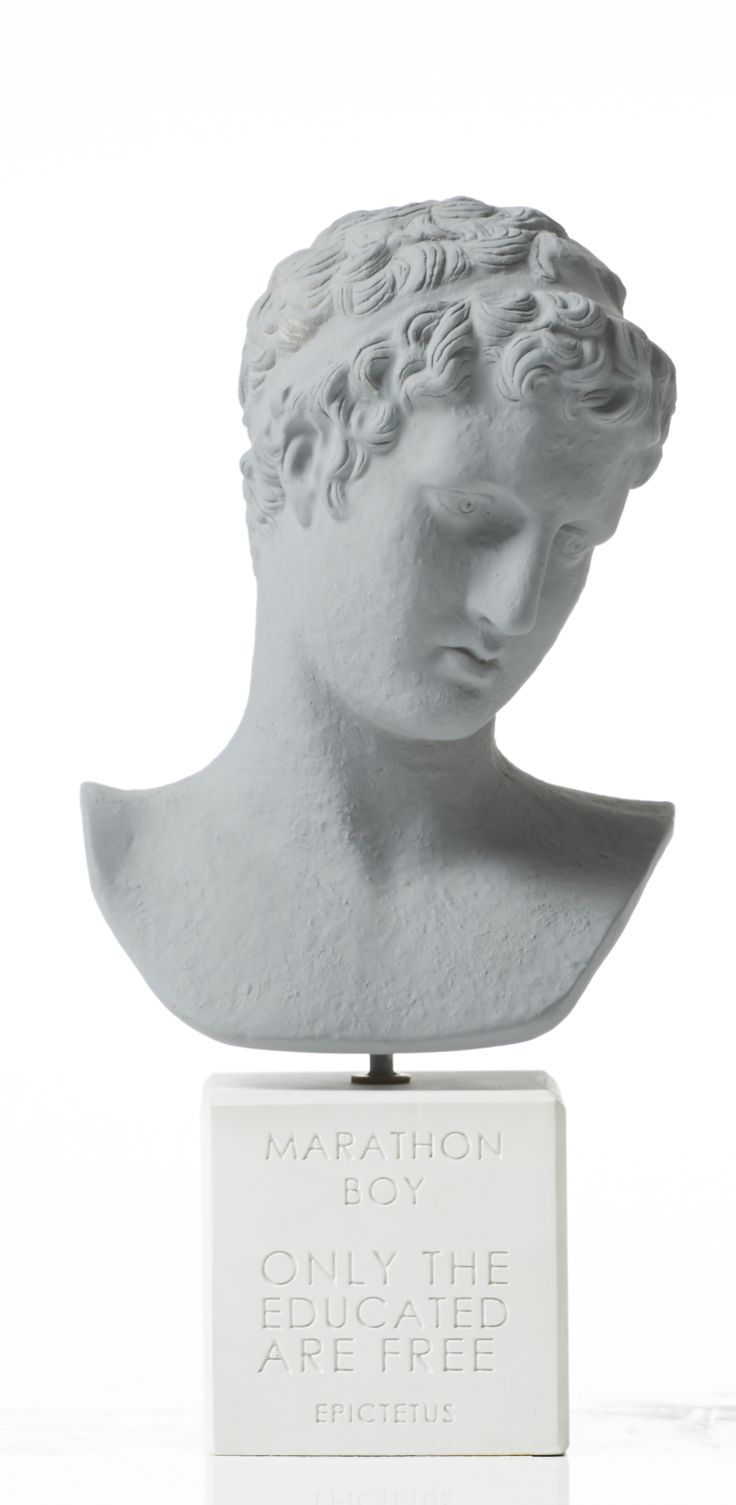 "Marathon Boy  ""Only the educated are free"" -Epictetus"