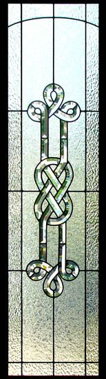 Celtic Stained Glass Sidelight