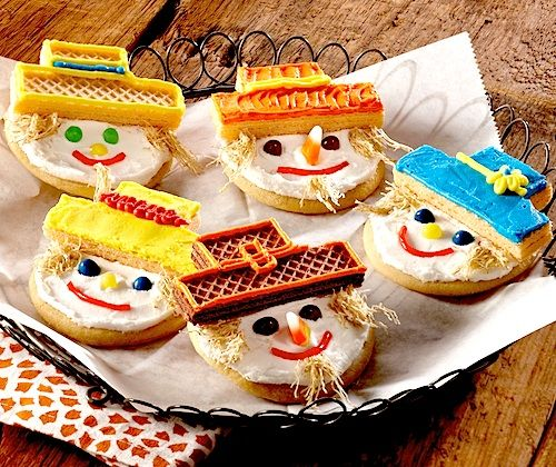 Recipe: Harvest Scarecrow Cookies (using cookie mix ...