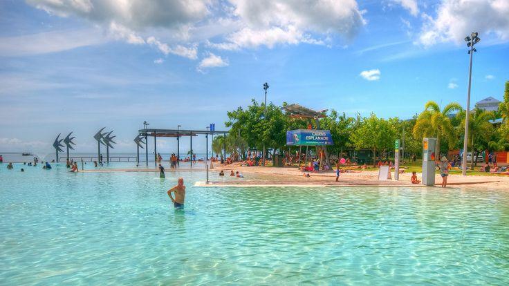 Cairns Esplanade Lagoon in Cairns, QLD