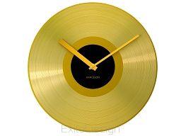 Zegar ścienny Golden Record by Karlsson