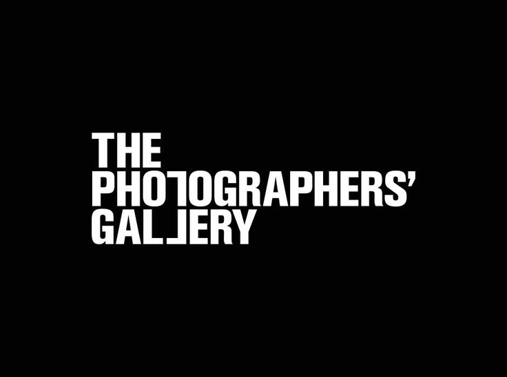 The Photographers' Gallery (identity) _ Sean Perkins, North