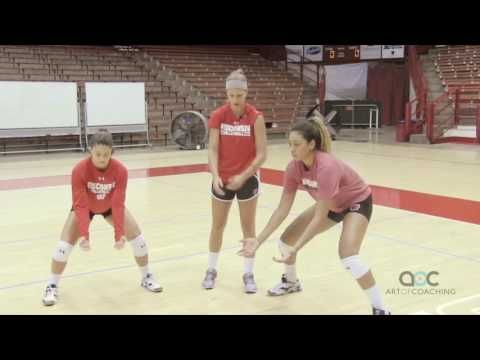 AVCA Video Tip of the Week: How to 'Load' for Good Passing - YouTube