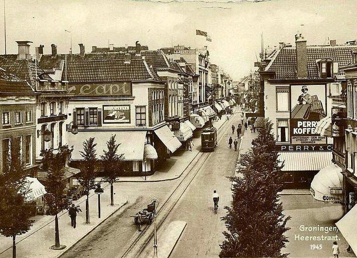 Heerestraat Groningen 1945