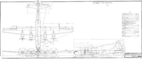 Mejores 24 imgenes de aircraft blueprints en pinterest avin boeing b 29 superfortress bomber blueprint malvernweather Images