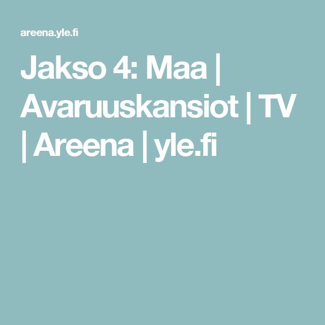 Jakso 4: Maa | Avaruuskansiot | TV | Areena | yle.fi