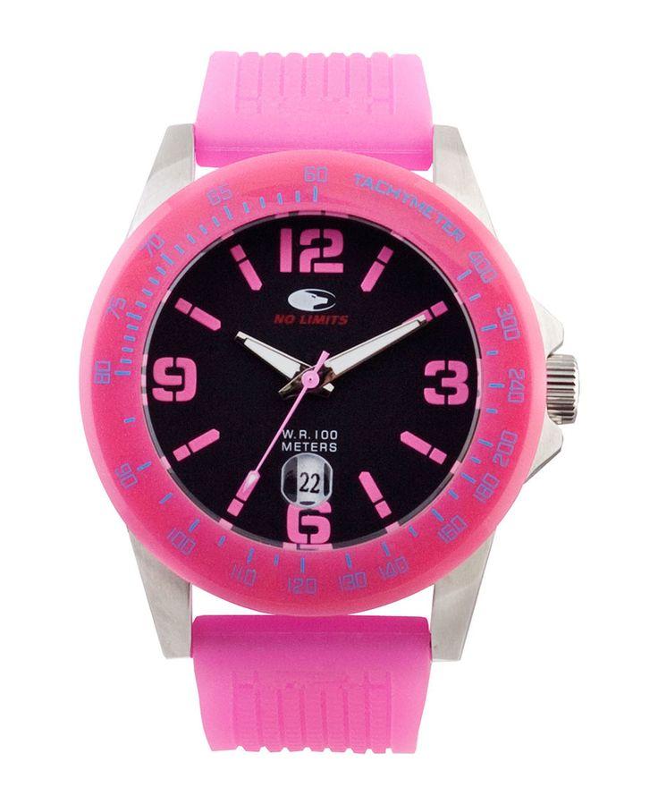 Orologio no limits, linea lampu, analogico, unisex - orologio sportivo giovane monocolore - la linea lampu è l'accessori - Orologio Rosa