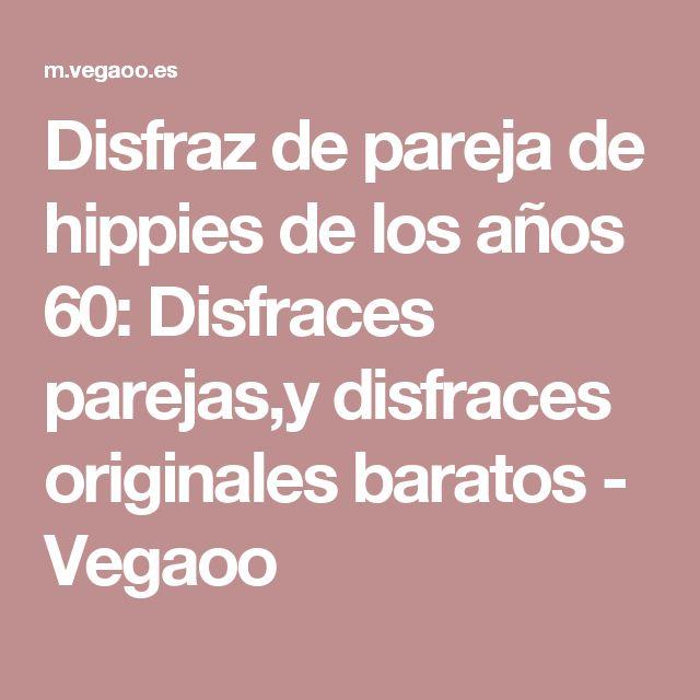 Disfraz de pareja de hippies de los años 60: Disfraces parejas,y disfraces originales baratos - Vegaoo