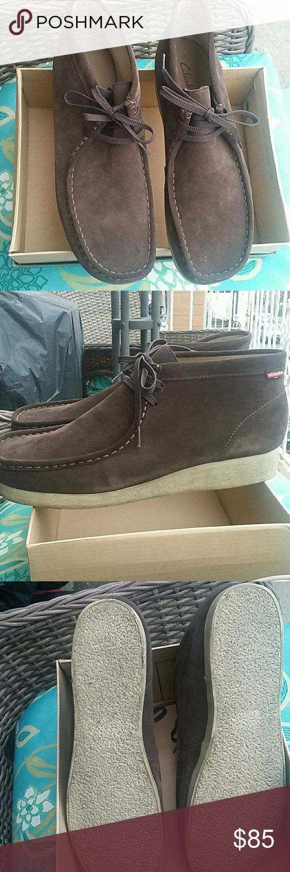 (Men) Clarks wallabees Clarks wallabees only wore once . Perfect condition. Clarks Shoes