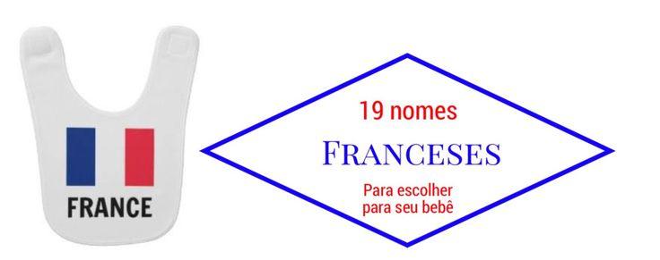 19 nomes Franceses para escolher para seu bebê