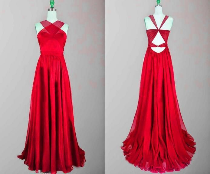 Prom Dresses Unique, Backless Prom Gown, Prom Dresses,Red Evening Gowns,Simple Party Dresses,2018 Evening Gowns,Backless Formal Dress For Teens MT20183259