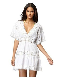 """Tribeca"""" lace coverup"""