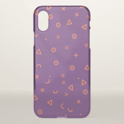 Happy Particles Purple iPhone X Case  $39.95  by ParazitGoodz  - cyo customize personalize diy idea