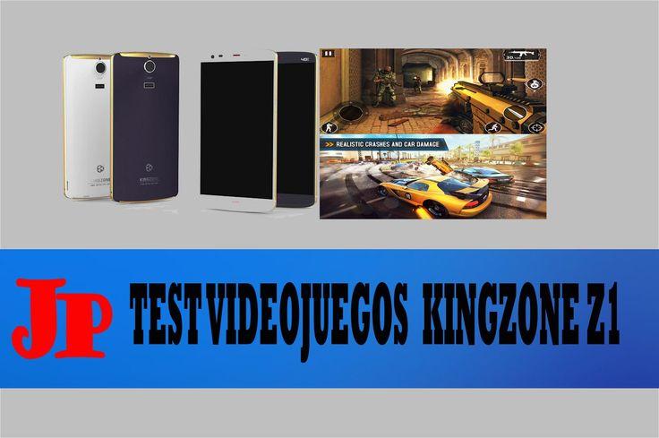 Test videojuegos  KingZone Z1