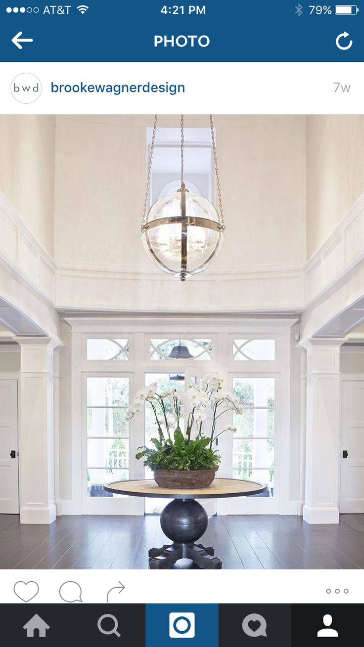 Fantastic Foyer Ideas To Make The Perfect First Impression: 25+ Best Ideas About 2 Story Foyer On Pinterest