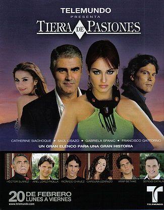 Tierra de Pasiones (USA 2006) - Gabriela Spanic & Saul Lisazo