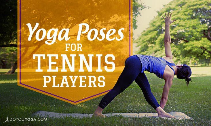 Looking to up your tennis game with some yoga? These 7 yoga poses for tennis players will help you stay fit and balanced both on and off the court!