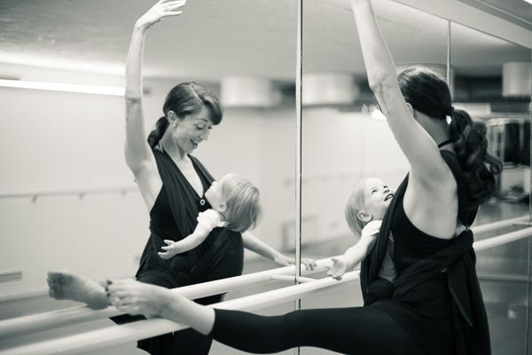 Baby Wearing Ballet Portrait Session. Oslo, Norway