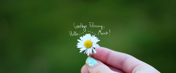 Happy New Month Wishes - Goodbye February Welcome March 2015 Images