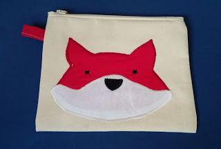 Bubusie: Kosmetyczka lis