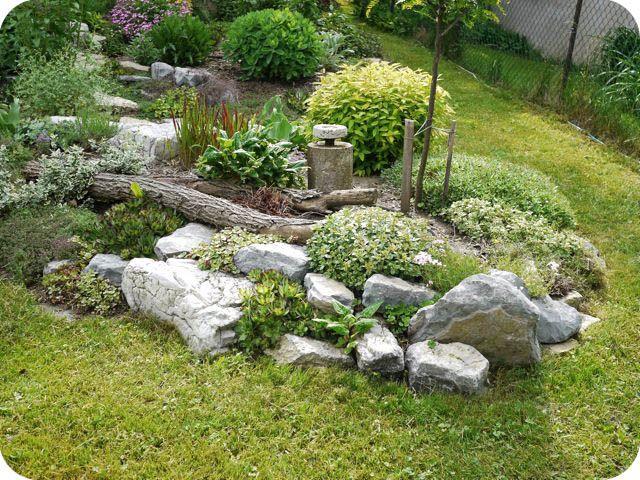17 best images about rock garden ideas on pinterest for Natural rock garden ideas