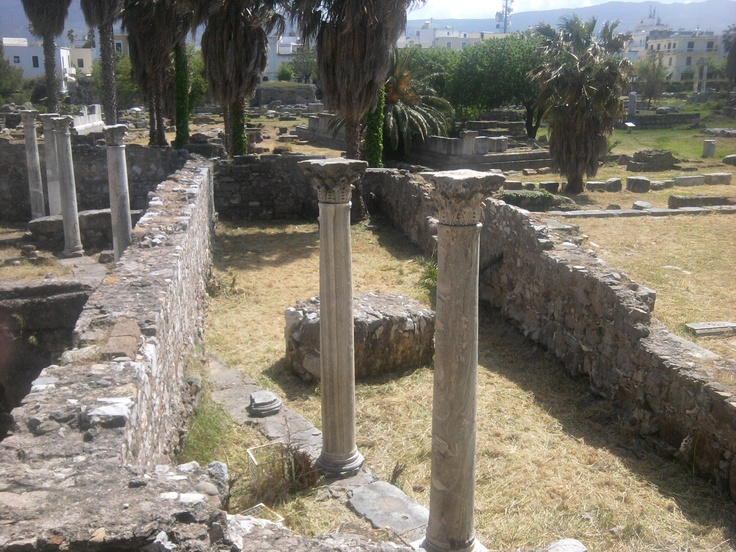 The Harbour Excavations and The Ancient Agora Site in Kos Town  http://www.kosexplorer.com/place/the-harbour-excavations-the-ancient-agora-site-in-kos-town/