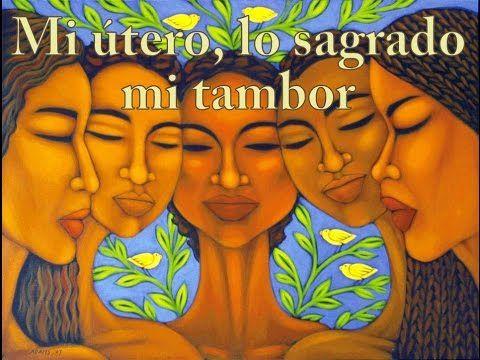 Mi útero, lo sagrado. Mi tambor. Tambores en manos de mujeres por Tambores Chamánicos Masayacu® - YouTube