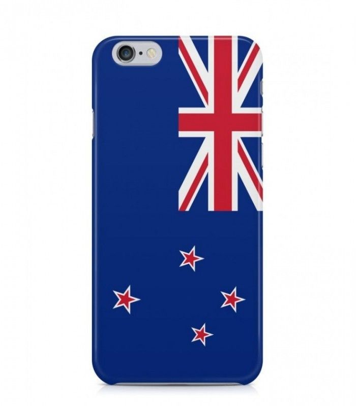 New Zealand or NZ Flag 3D Iphone Case for Iphone 3G/4/4g/4s/5/5s/6/6s/6s Plus - FLAG-NZ - FavCases