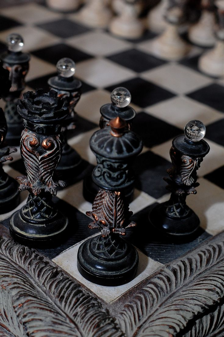 Chess anyone? in 2020 Chess board, Chess pieces, Chess set