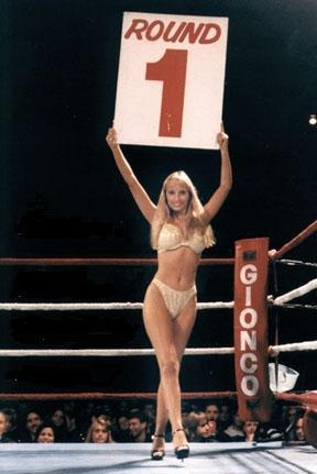 Corona Boxing Round Card Girls | Round 1 card girl | We make it all better