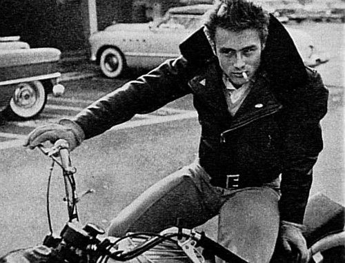 james dean motorcycle - Google Search
