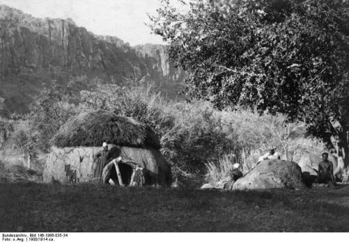 Bundesarchiv - Der Herero-Aufstand 1904 –  Aus der Sicht des Soldaten und Kolonialschriftstellers  Paul Leutwein