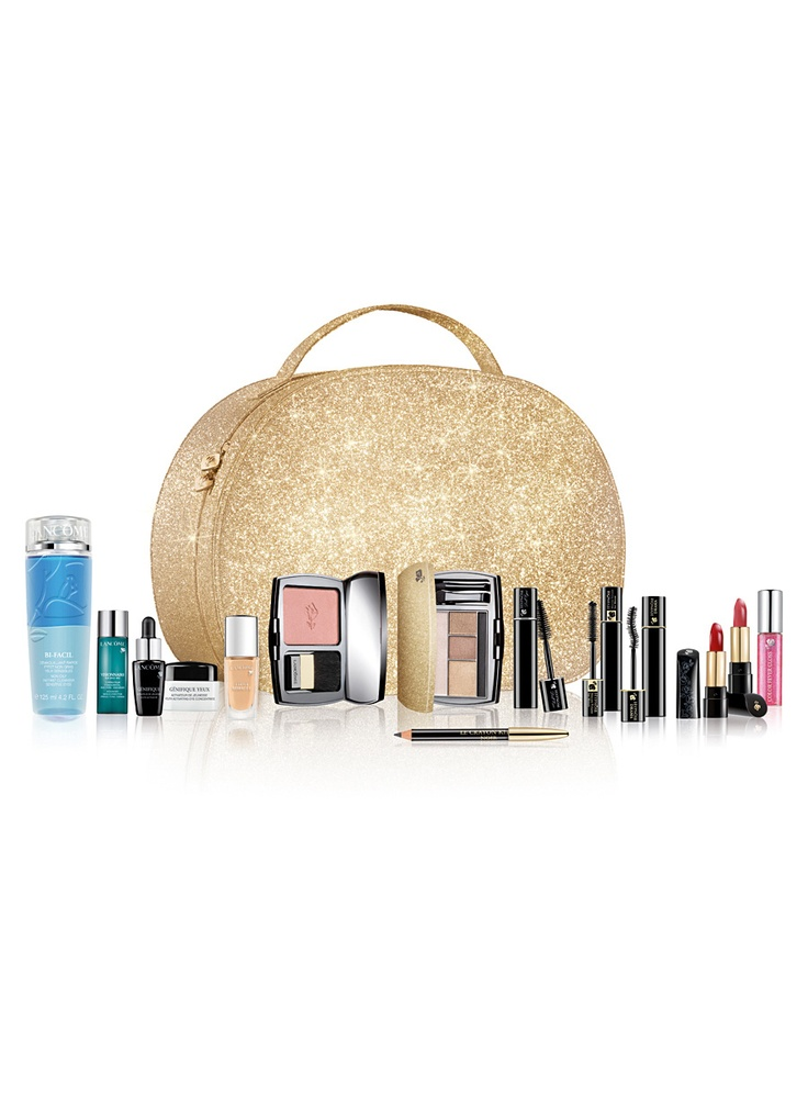 Lancome Beauty Box Yılbaşı Seti 700.00 TL Herhangi bir büyük boy Lancôme parfüm alışverişinizde Güzelliklerle Dolu BEAUTY BOX 700TL yerine sadece 149 TL!